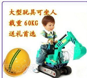 free shipping Child car, ride,Truck,Excavator,Christmas gifts,