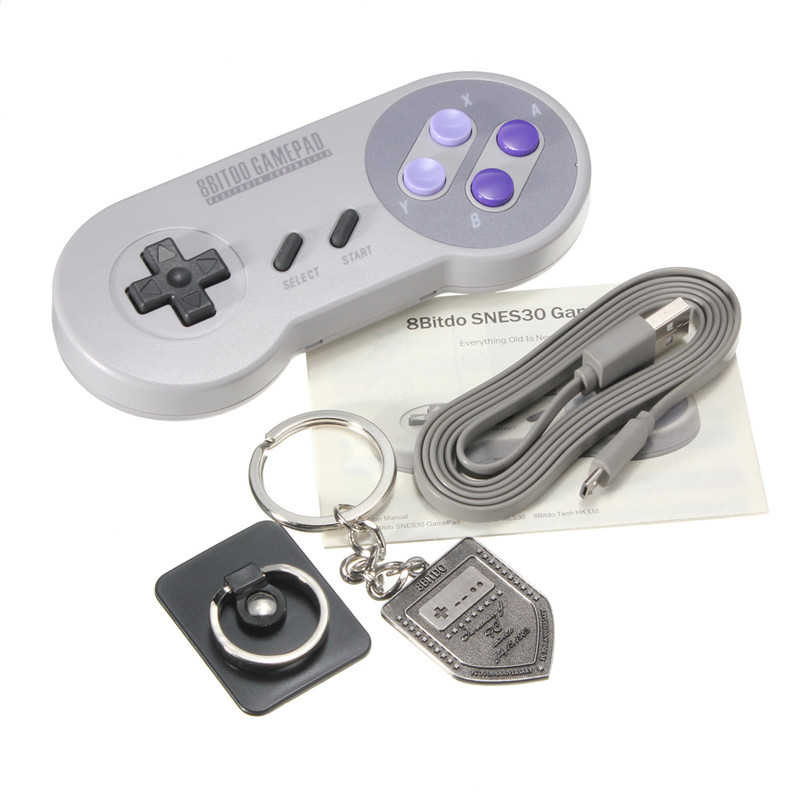 Top Selling 8BITDO SNES30 Pro edition Bluetooth Wireless Controller Gamepad Bluetooth Joystick GamePad For Android For Windows(China (Mainland))