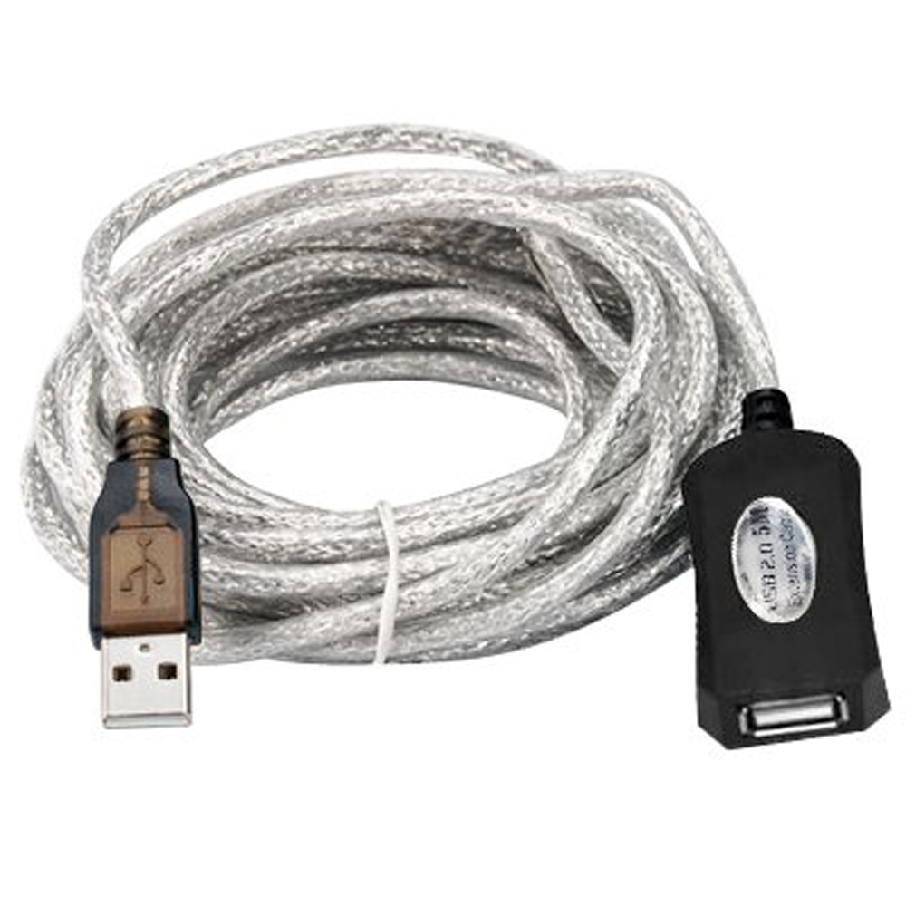New Queen! 5m USB 2.0 Active Repeater Cable Extension Lead(China (Mainland))