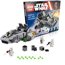 New LEPIN Star Wars First Order Snowspeeder Building Blocks Bricks mye Action Figures Starwars Toys wars clone Minifigures