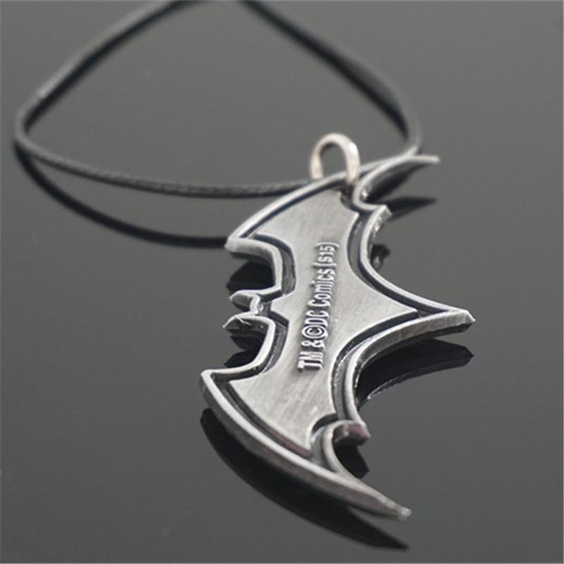 product Anime Adorn Article New Superman Batman Pendant Necklace Keychain Wholesale Drop shipping