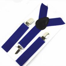 2.5cm width Boys Girls Clip-on Suspenders Elastic Y-Shape Adjustable Braces Tirantes Children Pants Jeans Braces Strap