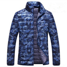 2016 marque vêtements Camouflage Hommes canard duvet d'oie veste canada Hiver Veste Plus La Taille Coupe-Vent Manteaux Parka Streetwear(China (Mainland))