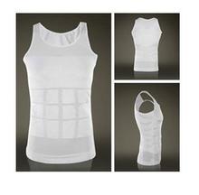 Hot Men Slimming Lift Body Shaper Belt Underwear Stretchy Shapewear Tops Vests(China (Mainland))