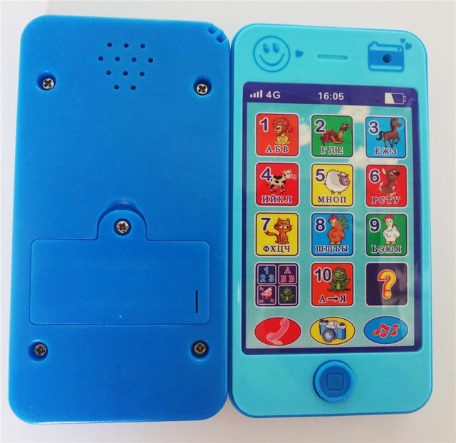 children's educational simulation music mobile phone 4G the latest version of Russian language Baby phone cd935