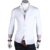 2015 NEW Men's Brand Slim Fit Long Sleeve Tuxedo Shirts Black/White Social Shirt  Summer Camisa Masculina For Men Free Shipping