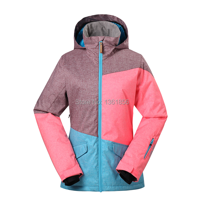 Free shipping 2014 New Gsou Snow Lady ski jacket veneer board ski jackets female snowboarding clothing skiing jacket women(China (Mainland))