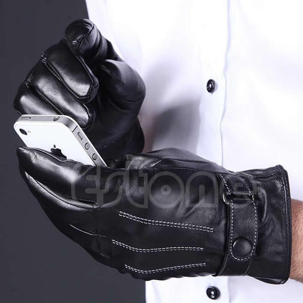 Fake leather driving gloves - Aeproduct