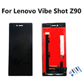 for Lenovo Vibe Shot Z90 LCD Display with Touch Screen Digitizer Assembly Black Free Tools