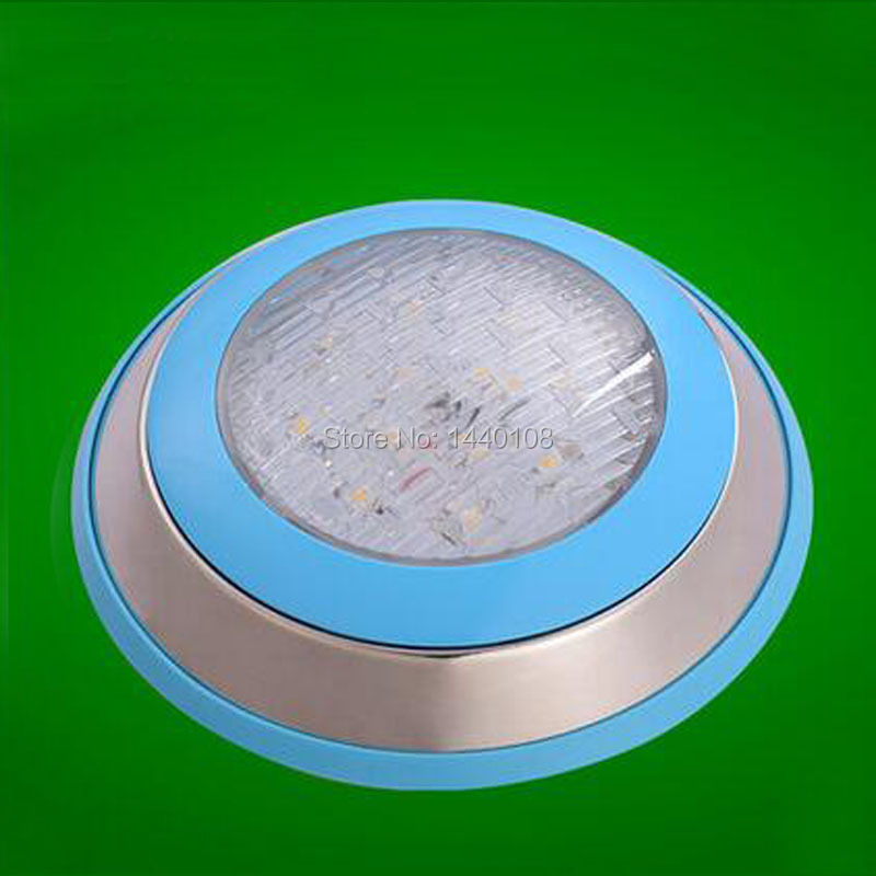 2pcs/lot 15w led round swimming spot lamp Stainless RGB Ac12V/24v 300mm LED Underwater Landscape Lamp Swimming Pool Wall Lamp(China (Mainland))