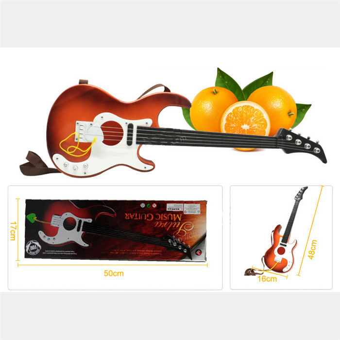 1Piece Kids Musical Toy Knowledge Simulation Guitar For Child Music Instruments(China (Mainland))