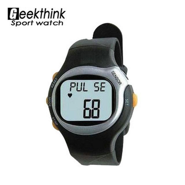 6 в 1 цифровой спортивные часы пульс монитор сердечного ритма счетчик калорий из светодиодов на фитнес наручные часы парень девушка часы 2016 новый продажа
