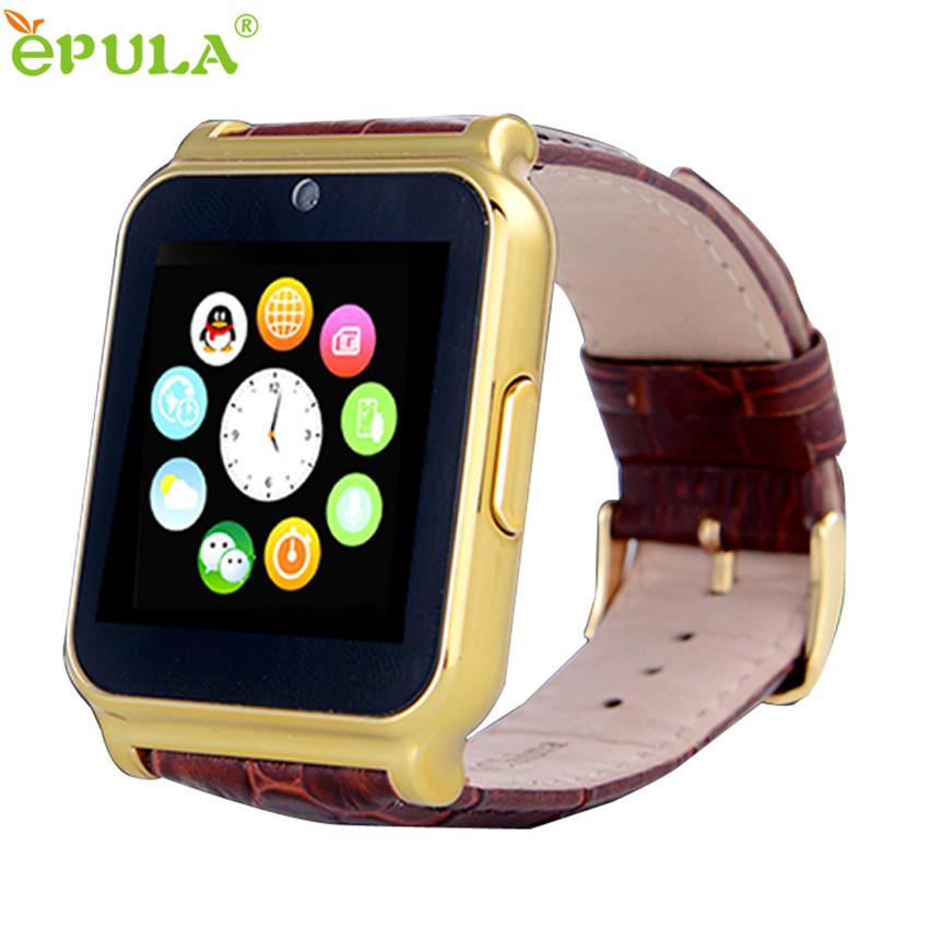2016 New Arrival Hot Gold Waterproof Smart Watch Phone Mate For Android IOS iPhone For Samsung note 7 Montres intelligents #11(China (Mainland))