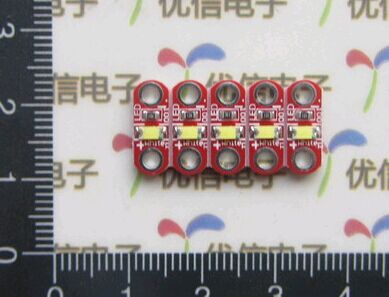 10pcs LilyPad Led Module Active Components Diodes For Arduino Uno DIY(China (Mainland))