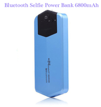 SC84 Portable Bluetooth Selfie 6800mAh Power Bank USB Port External Battery Charger For iPhone Android Mobile Phones Tablet