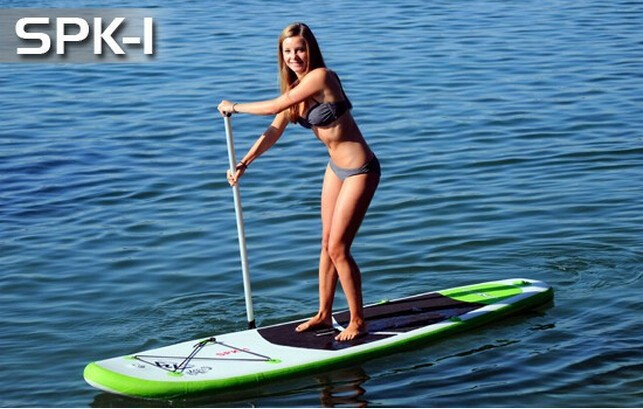 Fashion Selling 9'9''x30''x4'' Inflatable Sup Board Surfboard Paddle board Surf board SUP Kayak Inflatable fishing boat(China (Mainland))