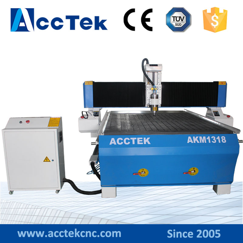 cnc router 1318 with Taiwan linear rail vacuum table Mach3 controller(China (Mainland))