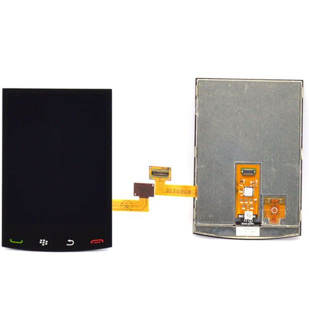 For Blackberry Storm 2 9520 9550 LCD Touch Screen with Digitizer outer glass full Assembly Free Shipping(China (Mainland))
