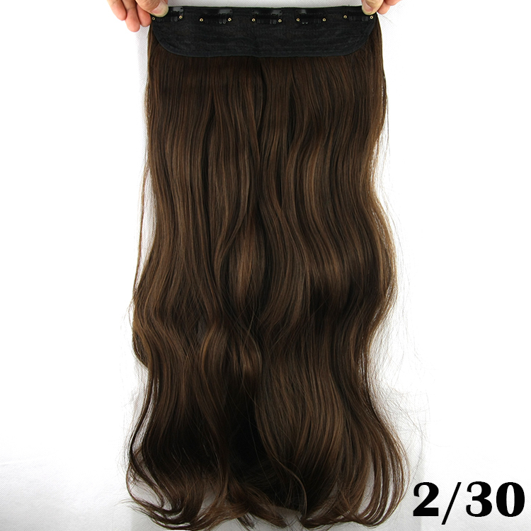 10pcslot 25inch 138g Synthetic Hair Clip In Hair Extensions Long