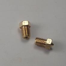 3 D printer parts DIY Reprap brass E3D-V6 nozzle 0.25 mm1.75 mm filament hotend marked number 1.75*0.25mm