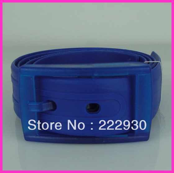 Free Shipping!Silicone Belt Fruit Golf Baseball Softball Jelly Rubber Plastic Buckle Waistband Mix Colors Avaliable 10pcs/Lots