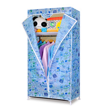Sale YoHere Simple Oxford cloth combination reinforcement dustproof fabric wardrobe storage portable closet bedroom furniture(China (Mainland))