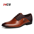 Pointed Shoes Large Size 11 Business Men s Basic Casual Shoes Black Brown Leather Cloth Elegant