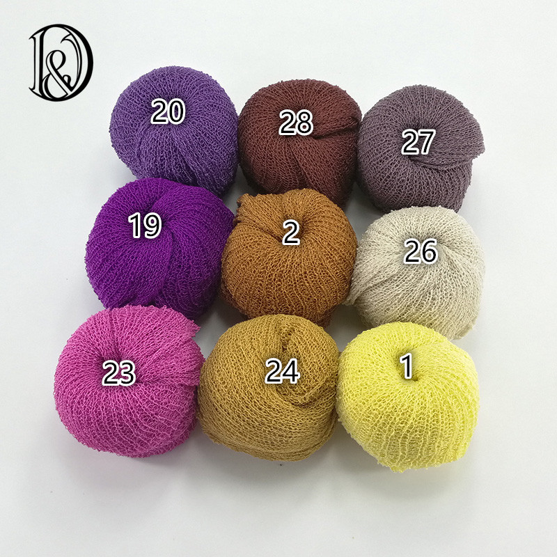 Rayon Stretch Knit Wrap Newborn Photography Wraps Nubble Wraps Rayon Wraps Baby Photo Props(China (Mainland))
