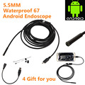 High Quality 720P HD Endoscope Android IP Mini Camera USB Snake USB Tube Camera 5 5mm