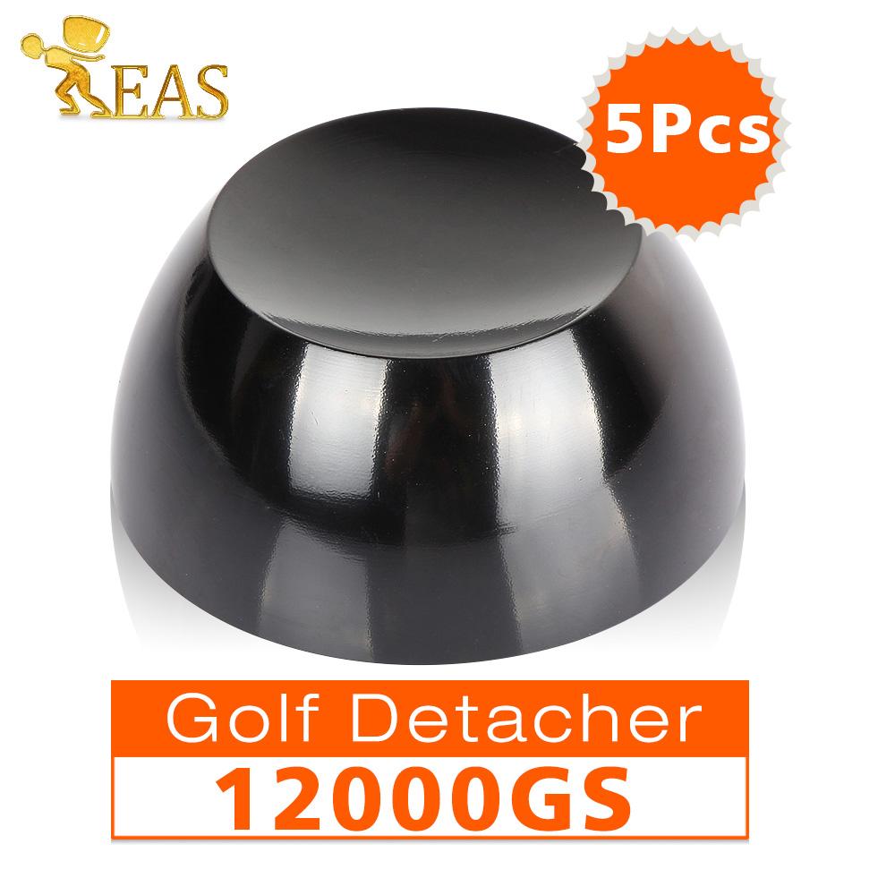 12000gs Universal Magnetic Detacher Hard Tag Golf Detacher Security tag Remover Black color 5pcs/lot(China (Mainland))