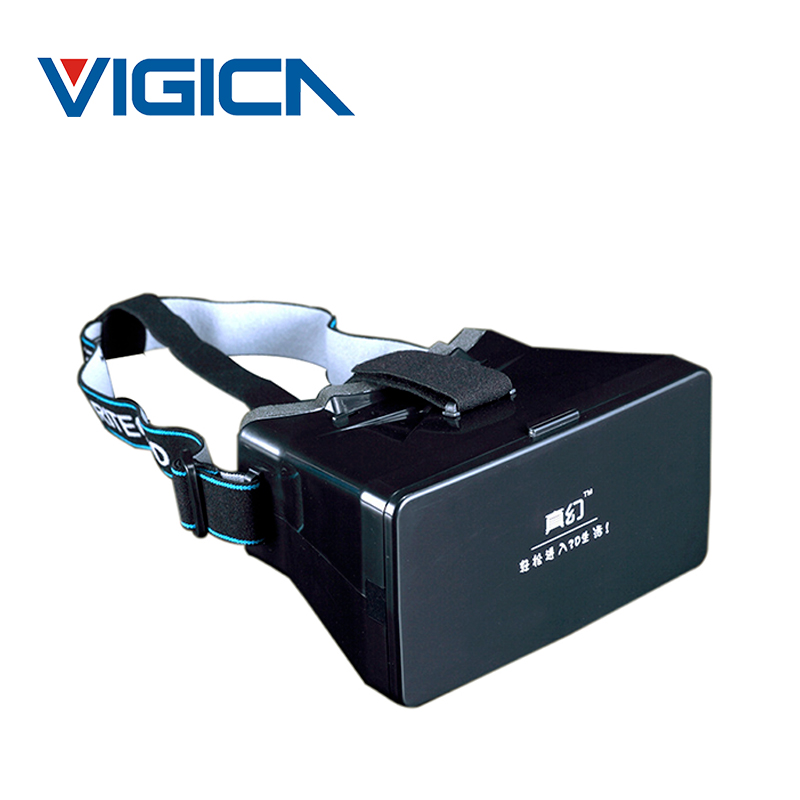 """2015 Google Cardboard Virtual Reality VR 3D Glasses 3D Movies Games Mobile Phone Glasses For 3.5 to 5.6"""" Smartphone(China (Mainland))"""