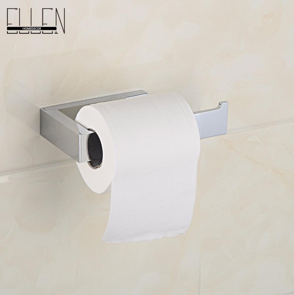 Paper toilete copper bathroom toilet paper holder square - Ellen Homedecor store