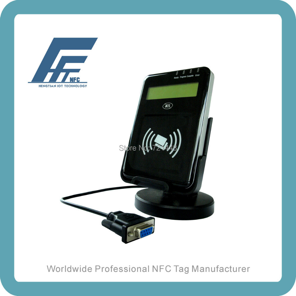 ACR122L VisualVantage Serial NFC Reader with LCD NFC contactless reader(China (Mainland))