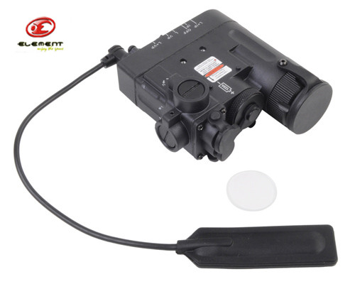 Element DBAL-D2 Battery Case Red Dot Laser with LED Flashlight and IR illuminayor 20mm Rails Remote Control Multi Function<br><br>Aliexpress