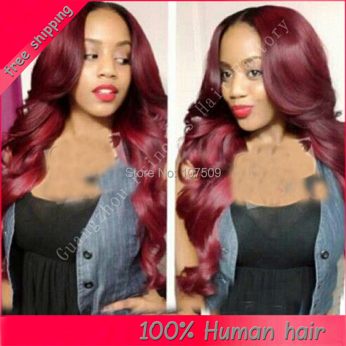 Top quality 100% Virgin Brazilian remy human hair glueless silk base wig front lace wig black wavy #1 #1b#2 #4 available  <br><br>Aliexpress