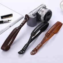 PU Leather Camera Wrist Hand Strap Grip For Finepix Fuji Fujifilm X30 X20 X10 XT10 XT1 X100T X100 X100S XE1 XE2 XM1 XA1 XA2(China (Mainland))
