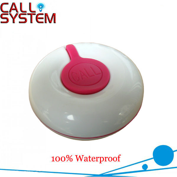 New Arrival Wireless Call Button K-O1-R , good design and 100% waterproof