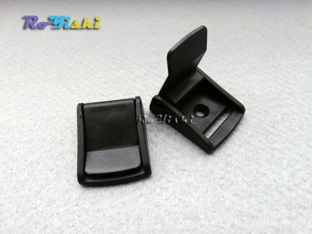 "10pcs 1"" Cam Buckles Plastic Black Toggle Clip Backpack Straps Webbing 25mm(China (Mainland))"