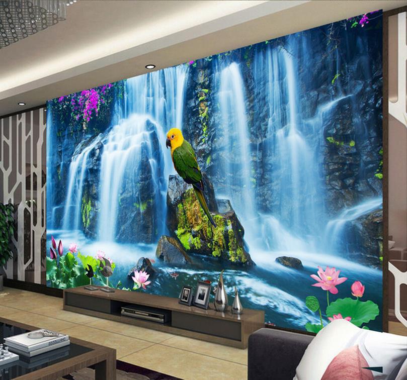 Acquista all 39 ingrosso online foto di progettazione 3d da for Papel de pared paisajes