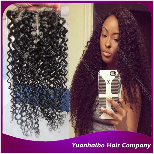 3.5x4 7a quality 1b# brazilian curly hair virgin remy kinky curl top lace closure for black women free shipping<br><br>Aliexpress