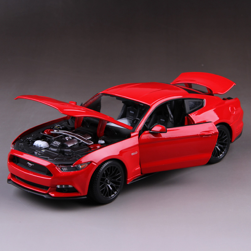 Exclusive 2015 Ford Mustang GT 1:18 simulation alloy car models Collection Gift(China (Mainland))