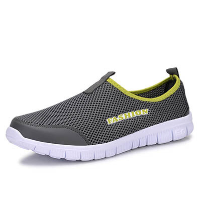 Men Shoes Fashion 2015 Summer Comfortable Sport Men Casual Shoes Mesh Breathable Plus Size 38-46(China (Mainland))