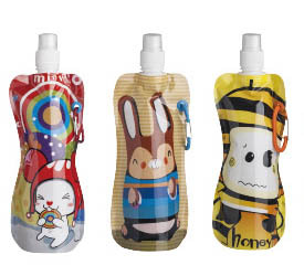 Squeeze Shaker Top Multi Fashion Stocked Sports Water Bottle 2014 New Arrival Designed Kids Squirt Sport Bladder free Shipping(China (Mainland))