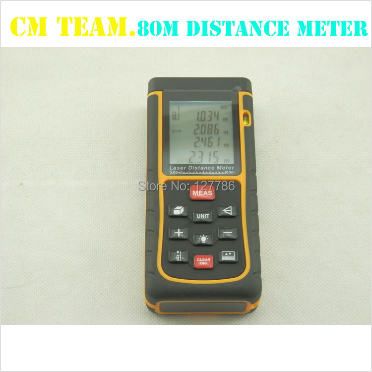 D015 SNDWAY 80m laser distance meter rangefinder accuracy 2mm Maximum measuring - Chinese jade group co., LTD store