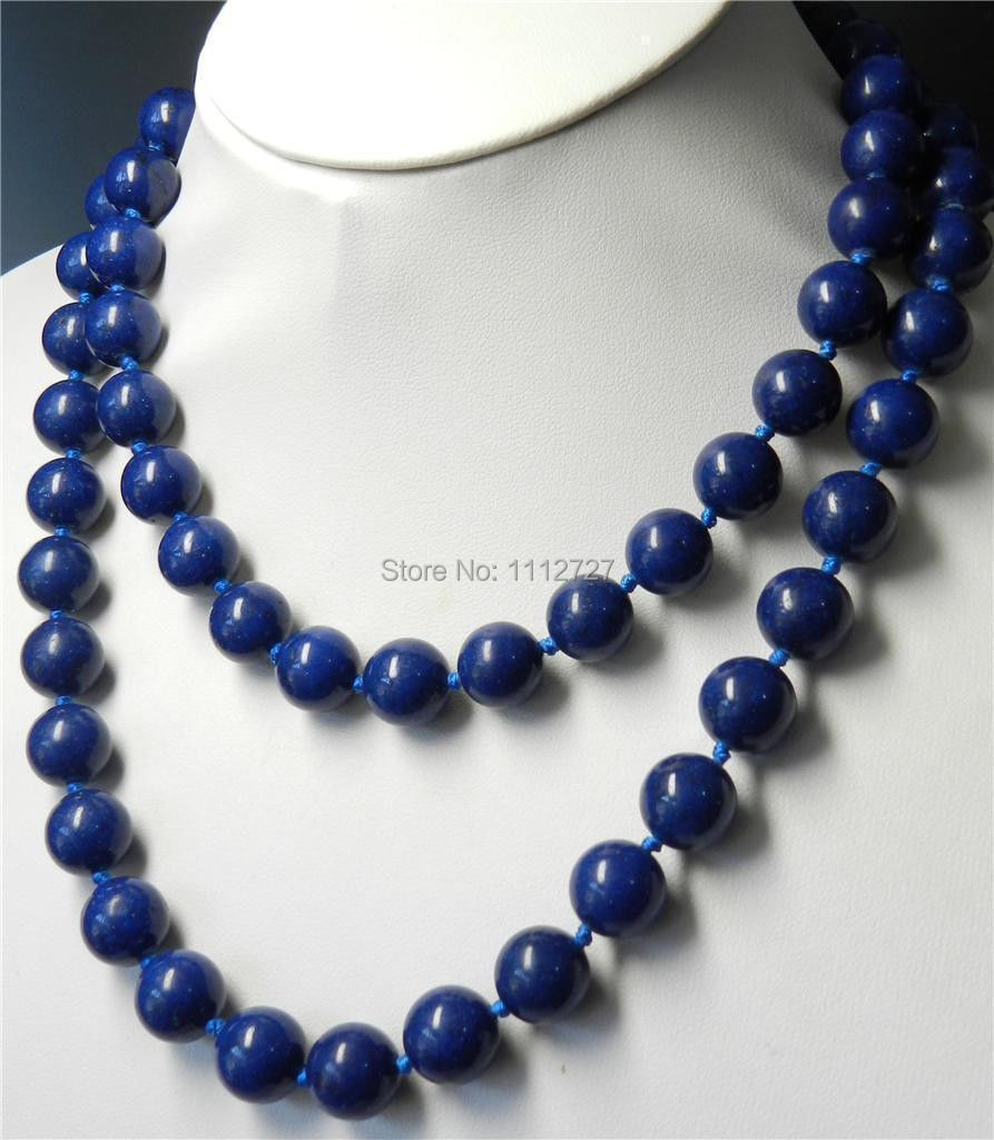 "Long 36"" 8mm Egyptian Lapis Lazuli Round Beads necklace Beads Jewelry Natural stone BV118 Wholesale Price(China (Mainland))"