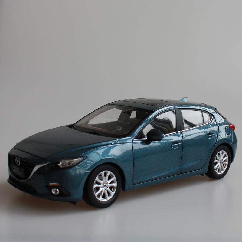 Blue 2014 1/18 MAZDA 3 AXELA Hatch Back Diecast Model Car Mini Model Car Kits 2 Colors Available Limitied Edition<br><br>Aliexpress