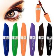 1 PCS Makeup Cosmetics Fiber Eyelash Mascara Long Curling Makeup Eyelash Waterproof Fiber Mascara Eye Lashes