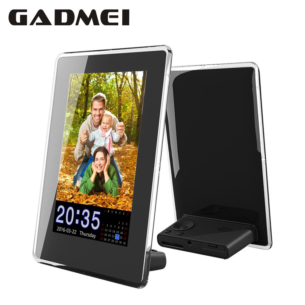New Fashion 6 inch Vertical HD Digital Photo Frame with Clock & Calendar function, MP3, Light Sensor, Gift, Free Shipment(China (Mainland))