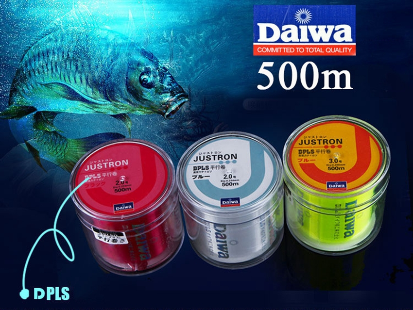Hot 500m daiwa monofilament fishing line super strong for Strong fishing line
