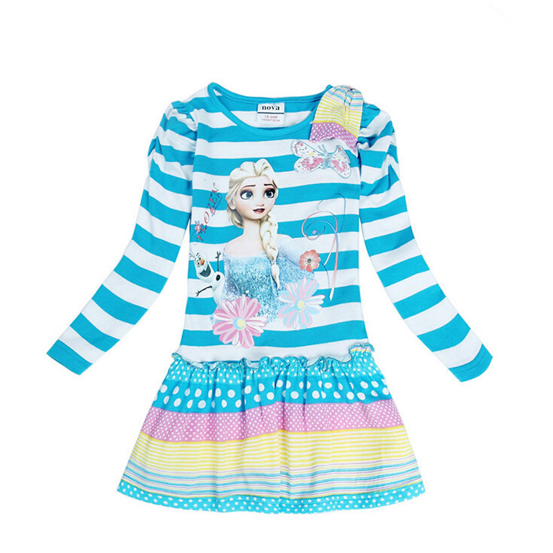 new 2015 long sleeve girl dress autumn baby girls clothes children princess dresses vestidos QZ150901(China (Mainland))